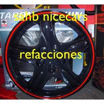 Tapon De Rin 14 Negro Universal Nicecars