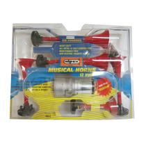 Corneta 5 Bocinas Con Compresor Tono Musical Dixie