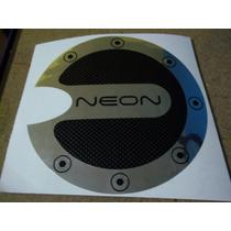 Calcomania Tapa Gasolina Neon Sticker