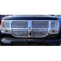 Parrilla Cromada 4 Piezas Dodge Nitro 07-08-09-10-11-12-13