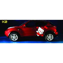 Stickers O Calcomanias De Kitty Para Tu Auto
