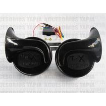 Claxon Tunix 18 Tonos 12v 500hz Potente Universal