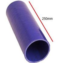 Tubos Flexibles Silicona - 80mm Azul Sección Universal Stra