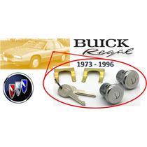 73-96 Buick Regal Chapas Para Puertas Con Llaves Cromadas