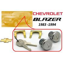 83-94 Chevrolet Blazer Chapas Para Puertas Llaves Cromadas