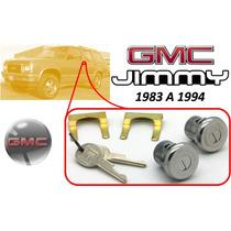 83-94 Gmc Jimmy Chapas Para Puertas Con Llaves Cromadas