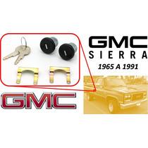 65-91 Gmc Sierra Chapas Para Puertas Con Llaves Color Negro