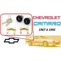 67-92 Chevrolet Camaro Chapas Puertas Llaves Color Negro