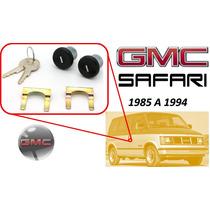 85-94 Gmc Safari Chapas Para Puertas Con Llaves Color Negro