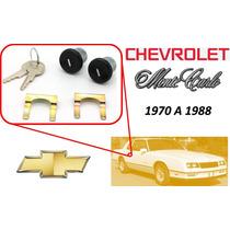 70-88 Chevrolet Monte Carlo Chapas Puertas Llaves Negro