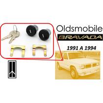 91-94 Oldsmobile Bravada Chapas Puertas Llaves Color Negro