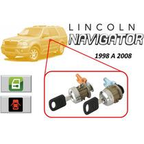 98-08 Lincoln Navigator Chapas Para Puertas Con Llaves