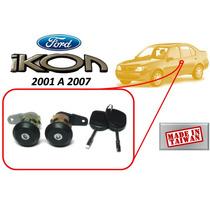 01-07 Ford Ikon Chapas Puertas Con Llaves Generico
