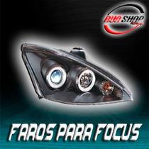 Faros Para Focus Con Ojo De Ángel Mod. 2000 - 2005