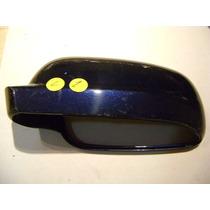 Vw Jetta A4 Carcaza Espejo Izquierda Color Azul Marino