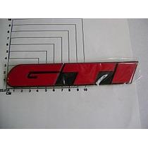 Vw Golf Gti Rotulo Trasero Gti Rojo