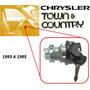 93-95 Chrysler Town & Country Switch De Encendido Con Llaves