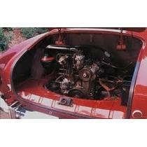 Vw Karmann Ghia Empaque De Hood Motor Tapa Trasera 56-74
