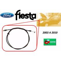 03-10 Ford Fiesta Chicote Cerradura De Cofre Sin Jaladera