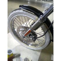 Llantas Cara Blanca Moto Hot Rod Vespa Harley Accesorios