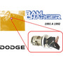 91-92 Dodge Ram Charger Switch De Encendido Con Llaves