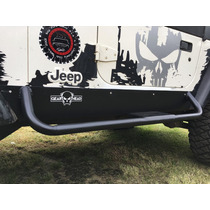 Rock Sliders Jeep Wrangler Tj 97-06 4x4 Estribos Tubo Placa