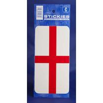 Inglaterra Pegatina - Gran San Jorge Bandera Rectangular Roj