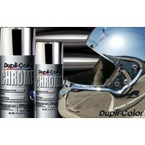Pintura Duplicolor Cromo En Plata Dorado Aplicacion Directa