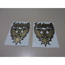 Set De 1 Calcamonia Sticker De Behemoth