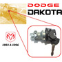 93-96 Dodge Dakota Switch De Encendido Con Llaves