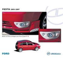 Biseles Ford Fiesta Lupa Ojo De Angel Xenon Kit Instalacion