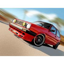 Aleron Vw Golf Jetta A2 Mk2 Precio Mayoreo
