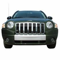 Cubre Parrilla Cromada De Jeep Compass 2007 - 2010 Nueva!!!