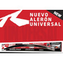 Euro Lip Universal Air Design, En Poliuretano Flexible Negro