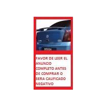 Aleron Spoiler De Cajuela Para Platina Rt Con Stop