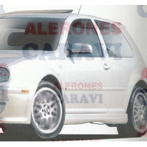 Golf A4 Estribos Laterales Modelo Air B , Nuevos , Caravi