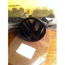 Emblema Para Parrilla Golf Jetta A2 Negro Aleman Volkswagen