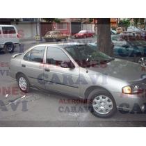 Nissan Sentra 2006 Al 2001 Estribos Laterales Por Pieza