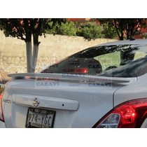 Nissan Versa Spoiler De Cajuela Modelo G5