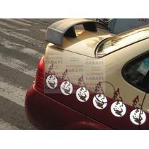 Monza Chevy Spoiler Cajuela Modelo Alto Cuadradito Con Stop