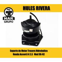Soporte Motor Trasero Hidráulico Honda Accord L4 Mod 98-02