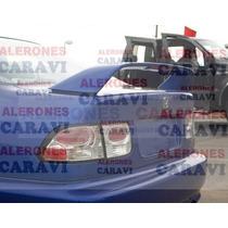 Civic Tuning Spoiler Modelo Sir Con Stop De 35 Leds Rojos