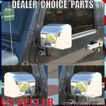 Wrangler Jeep Cover Cromo Espejos Importado Super Lujo Sp0