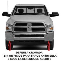 Defensa Delantera Cromada Dodge Ram 2500 3500 2009 - 2013