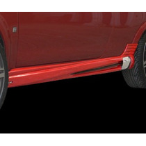 Estribos Laterales Con Toma De Aire Para Chevy C3 Automagic