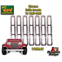 Jeep Wrangler Inseros Cromados Lujo 7 Piezas Importados Sp0
