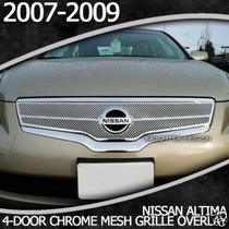 Altima Billet Cromado 2007 2008 2009 Importado Fdp