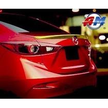 Spoiler De Cajuela Mazda 3 Sedan 2014-2016 Tipo Original