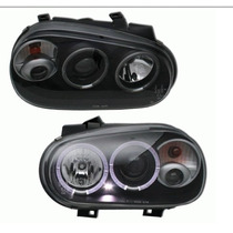 Faros Golf A4 Con Ojo De Angel 1999-2005