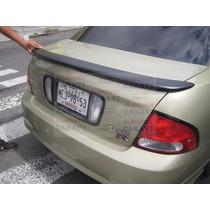 Sentra 2005 Aleron Modelo Flush Rodeando Enblema De Nissan